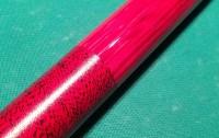 赤色ベースのグリップ糸巻き